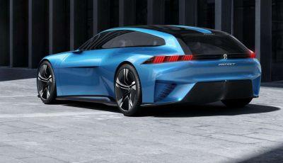 Nuova Peugeot 508 Station Wagon 2018, l'auto familiare del futuro