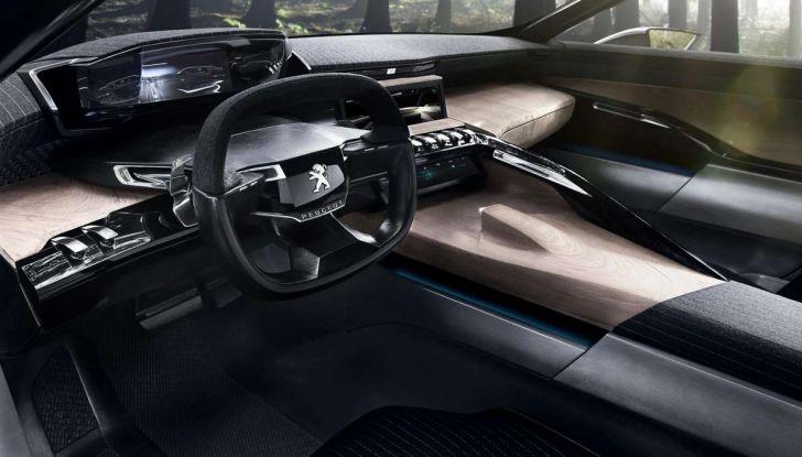 Nuova Peugeot 508 Station Wagon 2018, l'auto familiare del futuro - Foto 3 di 6