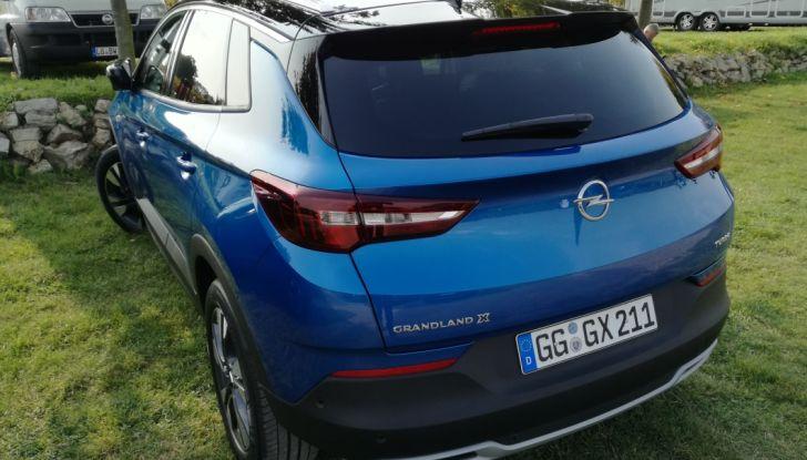 Opel Grandland X: test drive, caratteristiche e prezzi del crossover polivalente - Foto 6 di 25