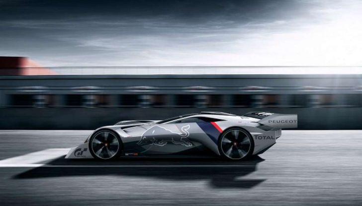 Peugeot L750 R HYbrid Vision, la concept per Gran Turismo Sport - Foto 10 di 12