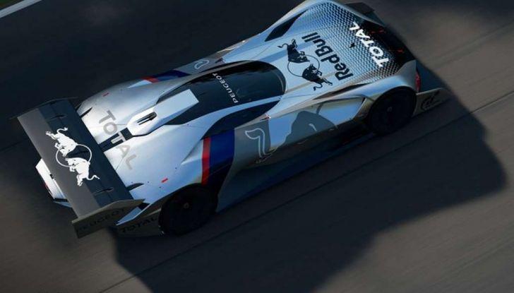 Peugeot L750 R HYbrid Vision, la concept per Gran Turismo Sport - Foto 11 di 12