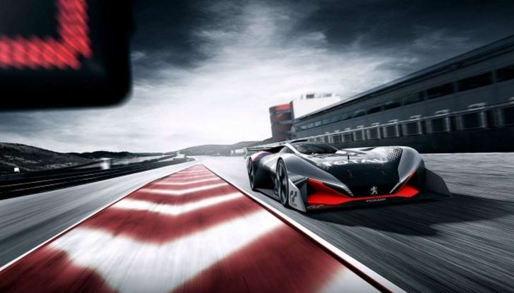 Peugeot L750 R HYbrid Vision, la concept per Gran Turismo Sport - Foto 12 di 12