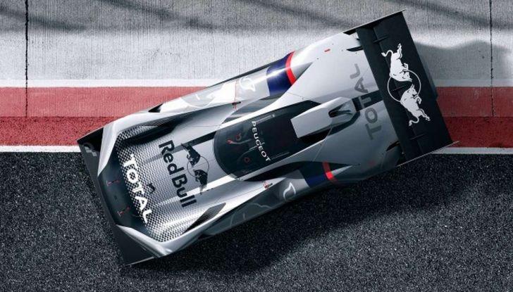 Peugeot L750 R HYbrid Vision, la concept per Gran Turismo Sport - Foto 4 di 12