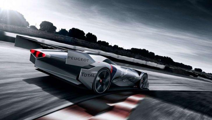 Peugeot L750 R HYbrid Vision, la concept per Gran Turismo Sport - Foto 2 di 12