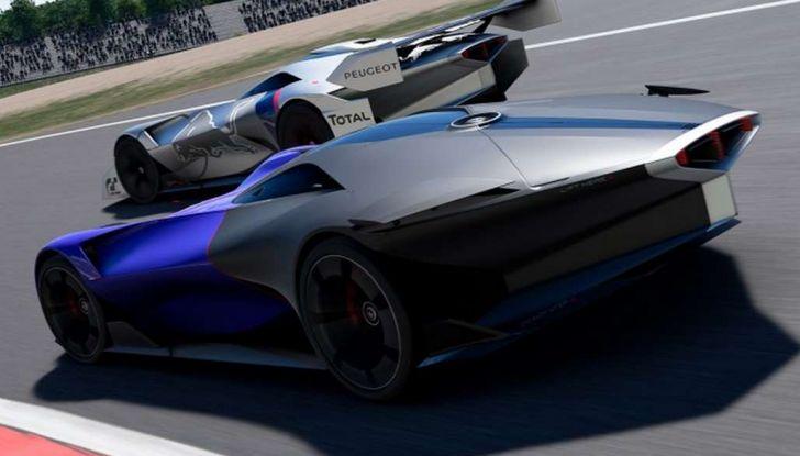 Peugeot L750 R HYbrid Vision, la concept per Gran Turismo Sport - Foto 5 di 12