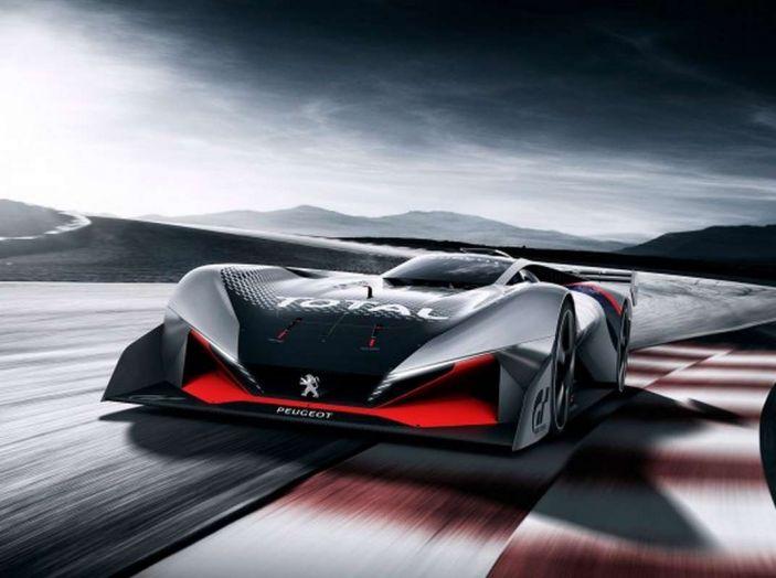 Peugeot L750 R HYbrid Vision, la concept per Gran Turismo Sport - Foto 6 di 12
