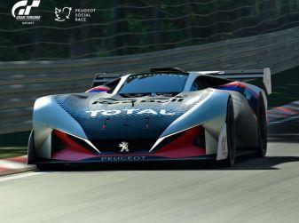 Peugeot L750 R HYbrid Vision, la concept per Gran Turismo Sport