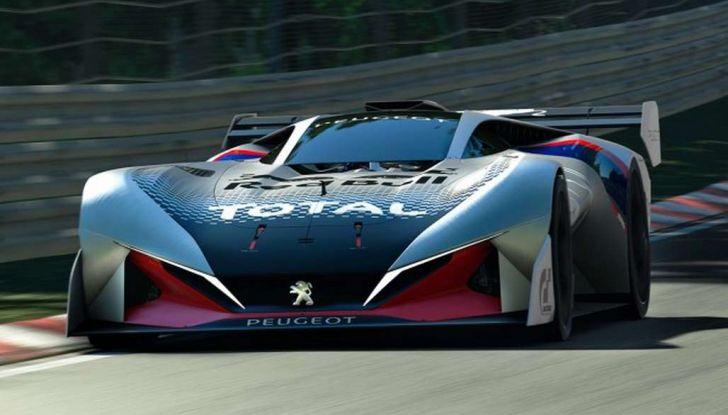 Peugeot L750 R HYbrid Vision, la concept per Gran Turismo Sport - Foto 1 di 12