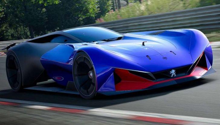 Peugeot L750 R HYbrid Vision, la concept per Gran Turismo Sport - Foto 7 di 12