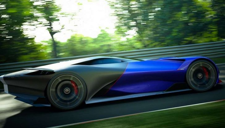 Peugeot L750 R HYbrid Vision, la concept per Gran Turismo Sport - Foto 8 di 12