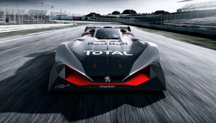 Peugeot L750 R HYbrid Vision, la concept per Gran Turismo Sport - Foto 9 di 12
