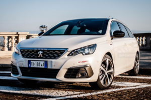 Nuova Peugeot 308 SW GT Line, un'auto sorprendente sotto diversi punti di vista