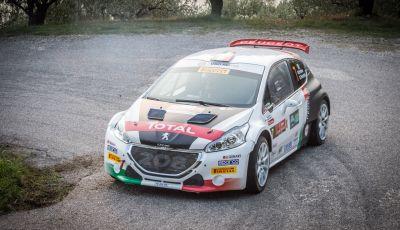 Rally 2 Valli di Verona - Peugeot vince Tappa 1 con una grande prestazione