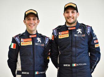 Grande entusiasmo nell'equipaggio Junior Peugeot al via con 208 T16 al Due Valli