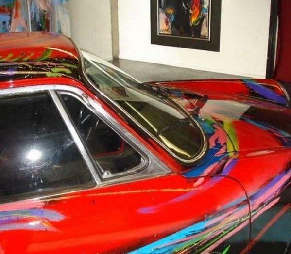 Porsche 911 del 1966 incontra l'arte astratta - Foto 4 di 4