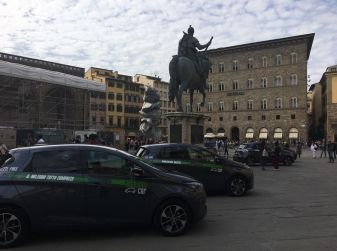 Renault e il Car Sharing 100% elettrico a Firenze