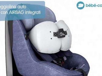 Il primo seggiolino con airbag, sicurezza al top per i bimbi in auto
