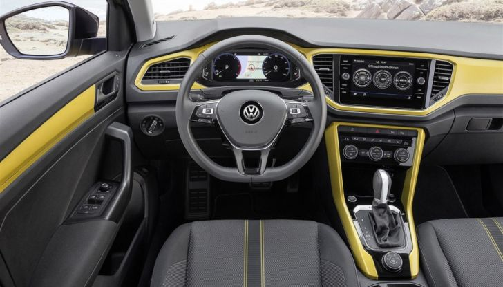 Volkswagen T-Roc 2017: prova su strada, caratteristiche e prestazioni - Foto 10 di 39