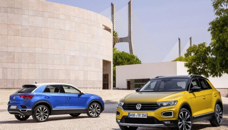 Volkswagen T-Roc ora disponibile con motore 1.6 TDI - Foto 1 di 39