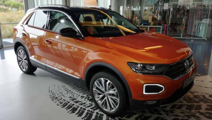 Volkswagen T-Roc 2017: prova su strada, caratteristiche e prestazioni - Foto 36 di 39