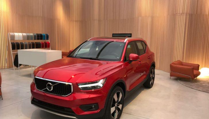 Volvo Studio Milano svela XC40 - Foto 1 di 28