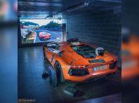 Il simulatore di guida più costoso del mondo è una Lamborghini Aventador