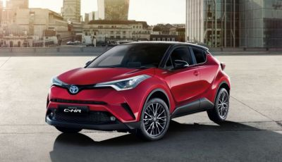 Toyota C-HR Trend disponibile con 2WD e 4WD