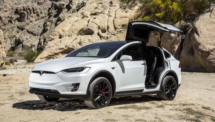 Tesla Owner Club, la sfida: Tesla Model X VS Range Rover HSE in 800Km - Foto 4 di 12