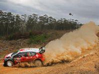 WRC Australia – shakedown: Stéphane Lefebvre secondo sulla sua C3 WRC