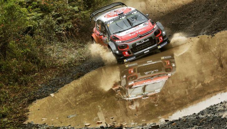 WRC Australia – Giorno 1: la Citroën C3 WRC di Kris Meeke è terza - Foto 1 di 2