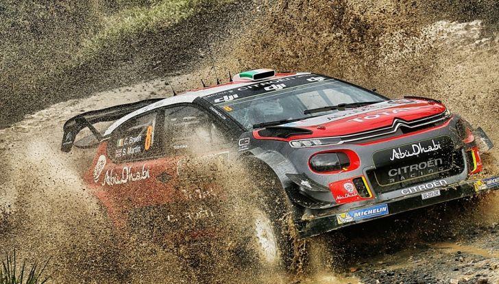 WRC Australia – Giorno 1: la Citroën C3 WRC di Kris Meeke è terza - Foto 2 di 2