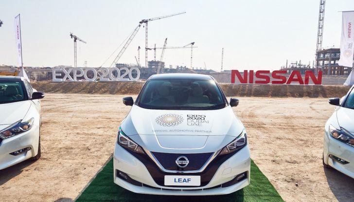 Nissan punta a 1 milione di auto elettriche entro il 2022 - Foto 3 di 12