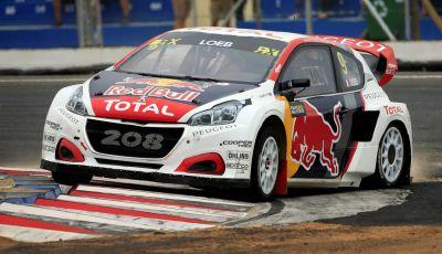 Il Team Peugeot Hansen con 208 WRX è vicecampione del mondo di rallycross