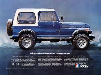 L'evoluzione di Jeep dal primo 4x4 del 1940 alla Wrangler Scrambler 2018