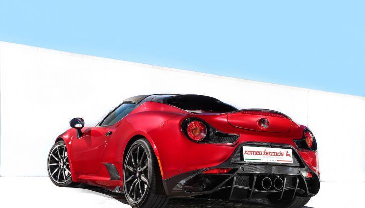 Alfa Romeo 4C di Romeo Ferraris, 300CV in un trionfo di carbonio - Foto 3 di 4