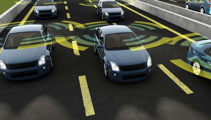 Auto a guida autonoma, le tempeste magnetiche impediscono la visuale - Foto 1 di 9