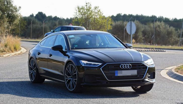Audi RS7 2018, primi test drive e informazioni tecniche - Foto 3 di 14