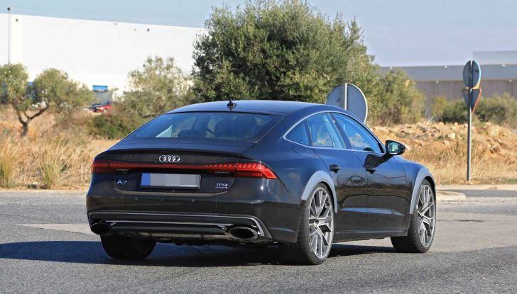 Audi RS7 2018, primi test drive e informazioni tecniche - Foto 14 di 14