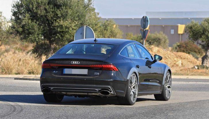Audi RS7 2018, primi test drive e informazioni tecniche - Foto 10 di 14