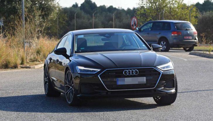 Audi RS7 2018, primi test drive e informazioni tecniche - Foto 9 di 14