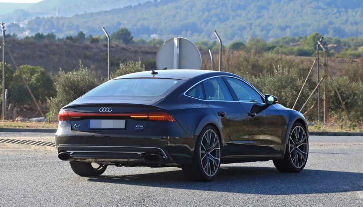 Audi RS7 2018, primi test drive e informazioni tecniche - Foto 6 di 14
