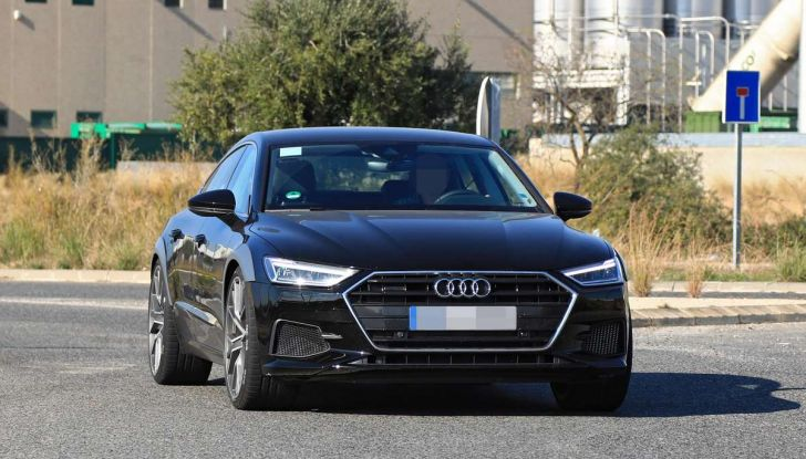 Audi RS7 2018, primi test drive e informazioni tecniche - Foto 7 di 14