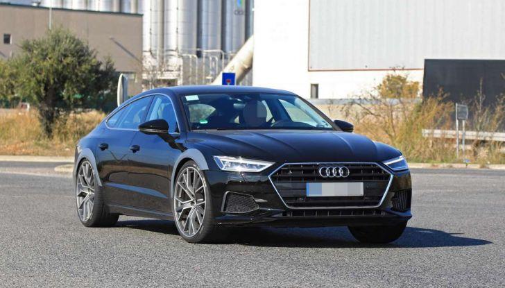 Audi RS7 2018, primi test drive e informazioni tecniche - Foto 5 di 14