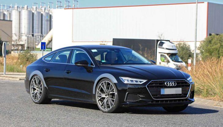 Audi RS7 2018, primi test drive e informazioni tecniche - Foto 8 di 14