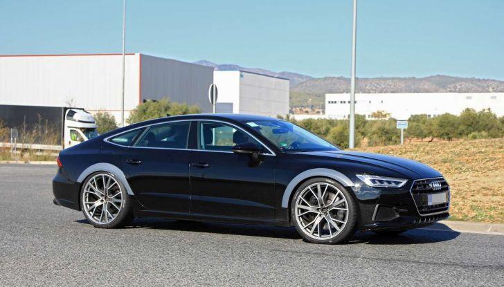 Audi RS7 2018, primi test drive e informazioni tecniche - Foto 11 di 14