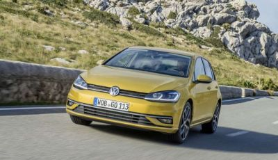 Auto a metano: Volkswagen Golf leader davanti a Fiat Panda e Up!