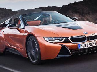 BMW i8 Roadster 2018: Caratteristiche, prezzi e prestazioni