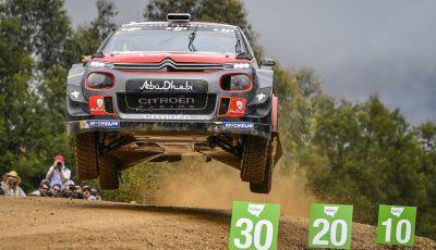 WRC Australia - giorno 3: una gara difficile per le C3 WRC