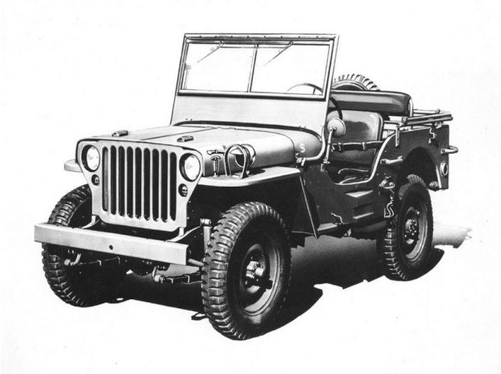 L'evoluzione di Jeep dal primo 4×4 del 1940 alla Wrangler Scrambler 2018 - Foto 6 di 11