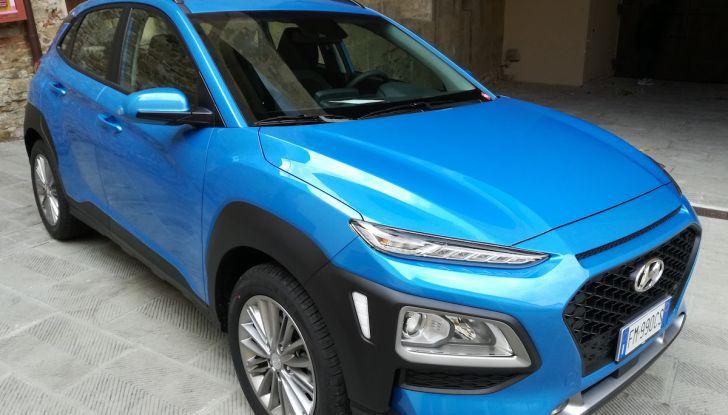 Prova nuova Hyundai Kona 2018: Crossover compatto poca spesa e tanta resa! - Foto 14 di 21